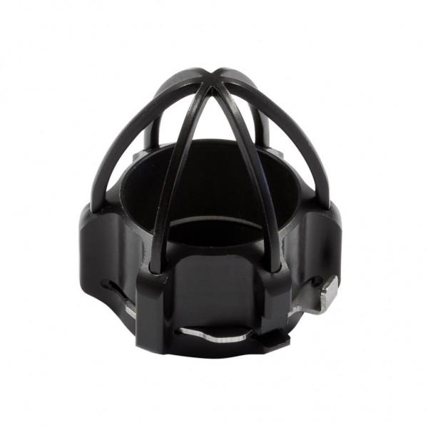 Schubhülse mit Objektivschutz für Miniatur-Kamerakopf Drm. 26 mm