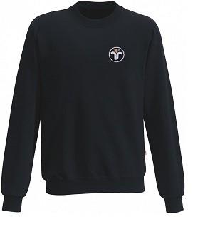 Sweatshirt, Langarm mit Aufgesticktem ZIV Emblem