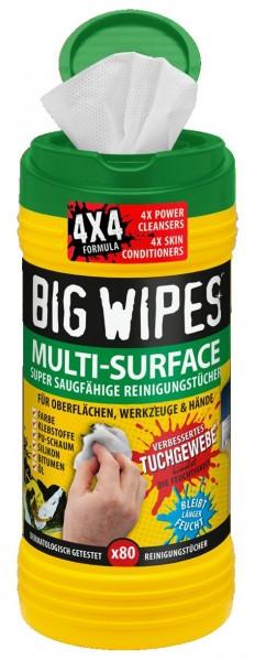 Reinigungstücher Big Wipes Multi Surface VE=80 Stück
