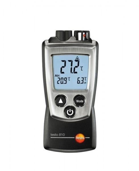 Lufttemperatur- und Infrarot-Oberflächenthermometer