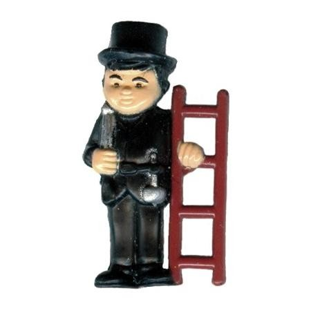 Miniatur -Schornsteinfeger, Höhe 2 cm,144 Stück