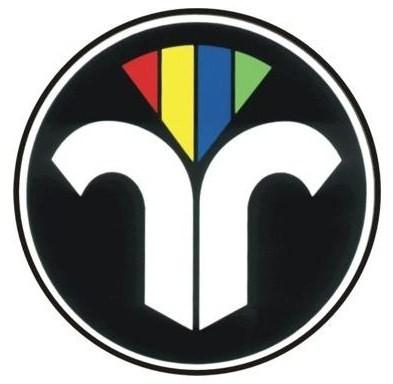 Auto-Aufkleber rund, ZIV Logo
