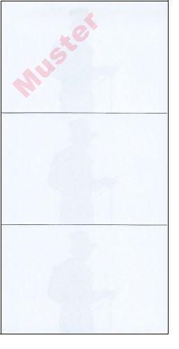 Arbeitsbuch/Quittungen, Einzelblatt, 1000 Blatt (DIN A 4), 3 Stück/Blatt
