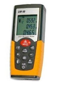 Laser-Entfernungsmesser mit Winkelfunktion für indirekte Messung