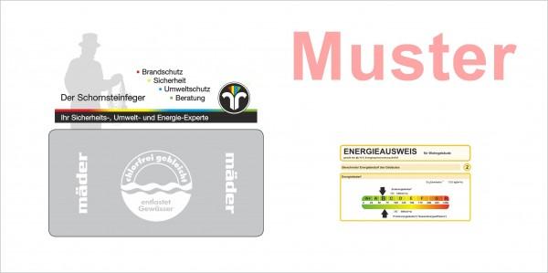 Briefumschläge Langformat, weiß Energieausweis