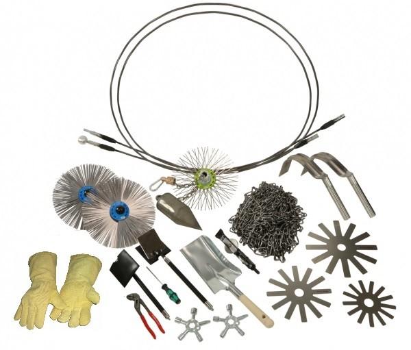 Schornstein-Werkzeugsatz DIN 14800-4:2013-12