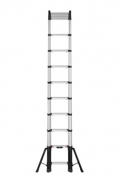 Alu-Teleskopleiter TELESTEPS PRIME LINE mit Stabilisatoren