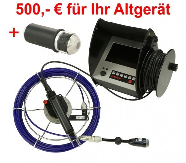 Schornstein-Kamera SK7 - Abgasleitungs-Set