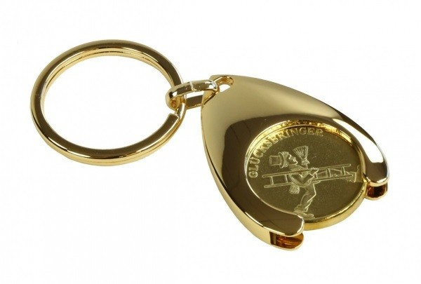 Schlüsselanhänger mit Glücksmedaille 10er Pack