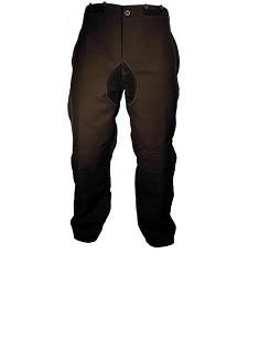 Hose, mittelschwer mit Lederbesätzen