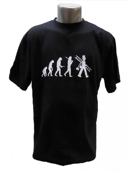 T-Shirt, Evolution des Schornsteinfegers, kurzarm