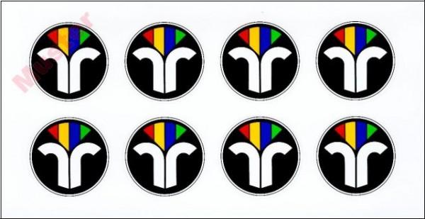ZIV-Aufkleber 4 cm Durchm.(neues Emblem)