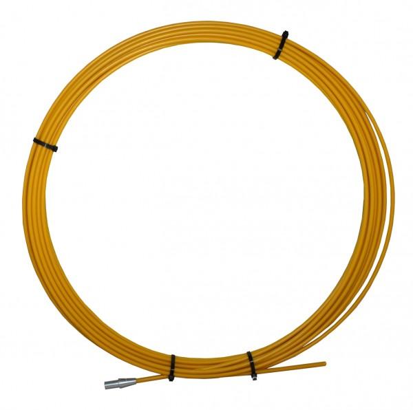 Austauschstange 9,5 mm, 30 m lang, gelb
