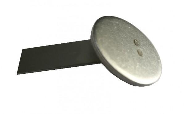 Verschlussplatten Edelstahl (50 Stück)
