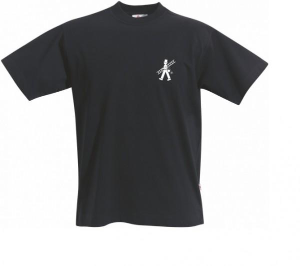 T-Shirt mit Schornsteinfeger, schwarz
