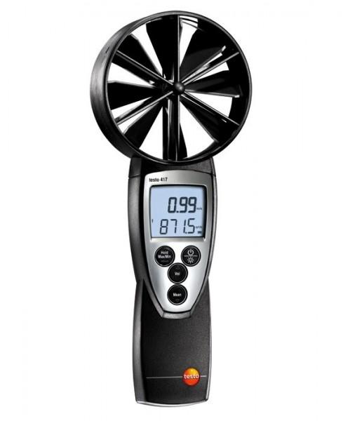 testo 417 - Großflächiges Flügelrad- Anemometer