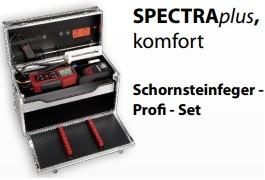 MRU SPECTRAplus Komfort Schornsteinfeger Profi-Set