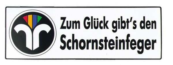 """Auto-Magnetschild """" Schornstein"""