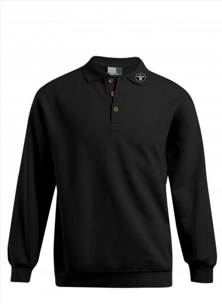 Polosweater, Langarm, mit Aufgestickte, ZIVEmblem