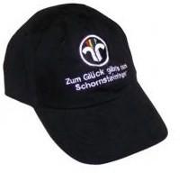 Schildmütze mit neuem Schornsteinfeger-Emblem und Text