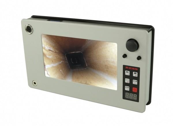 Farb-Monitor FM7 Pro, Ladegerät und Bedienungsanleitung