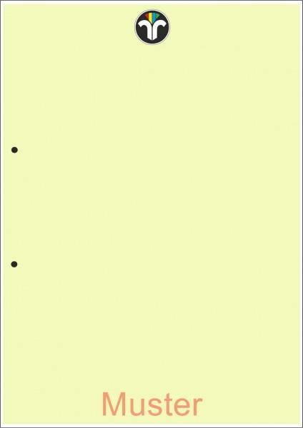 Geschäftsdrucke für Einzelblatt, grün