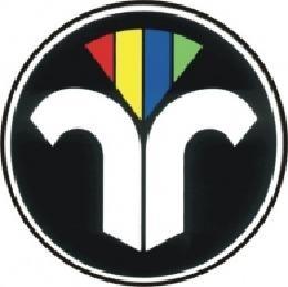 Auto-Aufkleber 16 cm, rund, ZIV Logo
