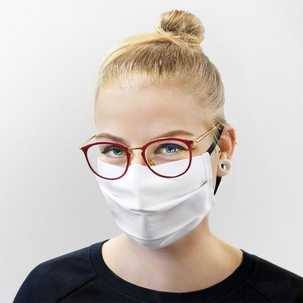Mund-/Nasenmaske mit Gummiband