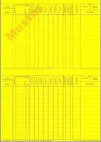 Karteikarten, gelb, Einzelblatt, DIN A 5